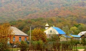 Церковь и школа в Безымянном